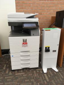 Library printer/copier