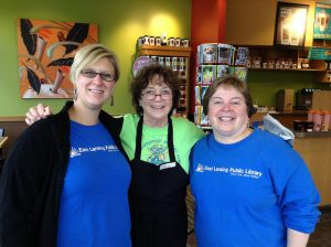 ELPL in the Community - Staff at Biggby's Guest Barista Day