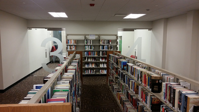 Library's small study room
