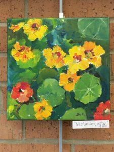 Nasturium, yellow - Artist is Irina Salenko