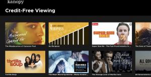 Screenshot of Kanopy films Credit Free Films.