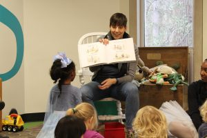 Children's librarian Caitlyn Stypa