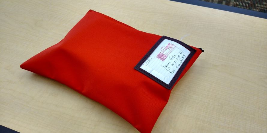Books By mail bag