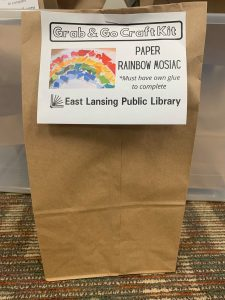Grab & Go Craft Kit from the East Lansing Public Library