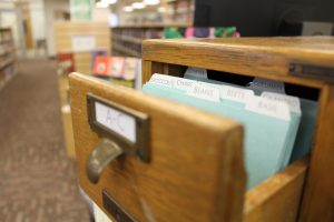 Seeds available in the library including: broccoli, beans, basil, cilantro, chard, beets, cucumber, copea