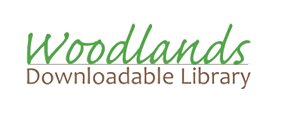 Woodlands Downloadable Library logo